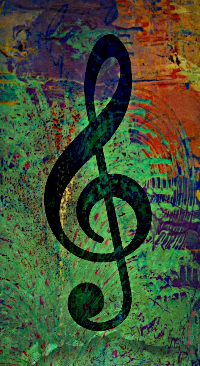 music, treble clef, treble